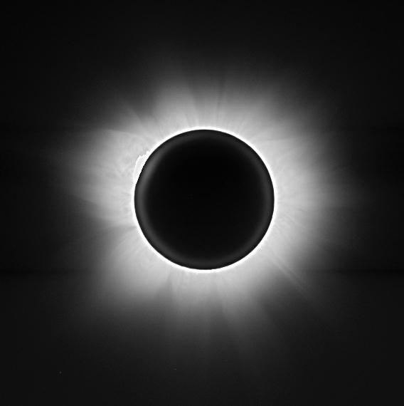 2001 June 21 eclipse composite image